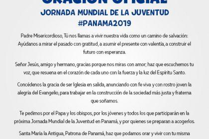 ORACIÓN OFICIAL -  Jornada Mundial De La Juventud #Panama2019
