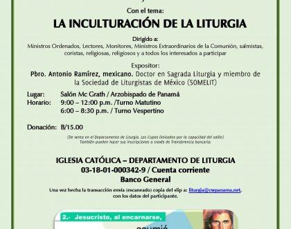 """""""La Inculturación de la Liturgia"""" Jornada de Teología Litúrgica"""
