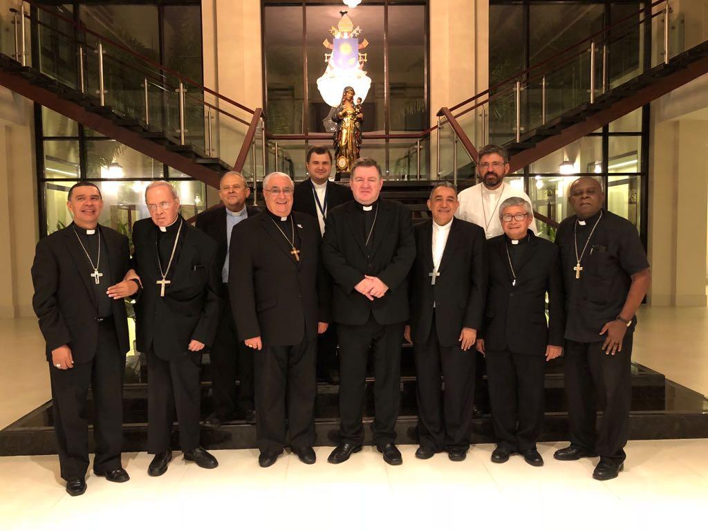Llegada del Nuncio Apostólico a Panamá