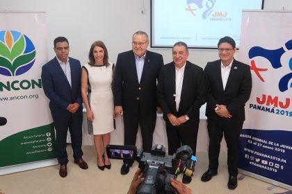 El comité organizador local de la JMJ y ANCON firman convenio