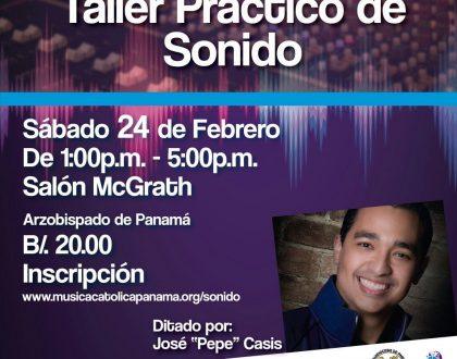Inscríbete en el Taller Práctico de Sonido para Parroquias