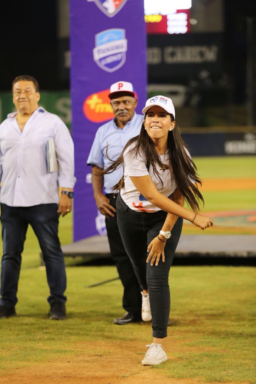 JMJ presente en la inauguración del campeonato de Béisbol Mayor
