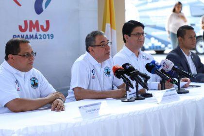 Conferencia de prensa sobre la apertura de  las inscripciones de voluntarios para la JMJ