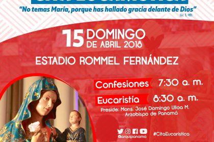 Este sábado 14 y domingo 15 de abril Gran Vigilia Juvenil y Cita Eucarística con sabor a JMJ